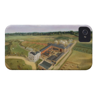 Tiptree Hall and Farm, Essex, c.1850-60 (oil on ca iPhone 4 Covers
