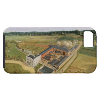 Tiptree Hall and Farm, Essex, c.1850-60 (oil on ca iPhone SE/5/5s Case