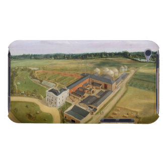 Tiptree Hall and Farm, Essex, c.1850-60 (oil on ca iPod Touch Case-Mate Case