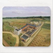 Tiptree Hall and Farm, Essex, c.1850-60 (oil on ca Mouse Pad