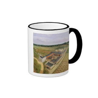 Tiptree Hall and Farm, Essex, c.1850-60 (oil on ca Ringer Mug