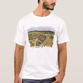 Tiptree Hall and Farm, Essex, c.1850-60 (oil on ca T-Shirt