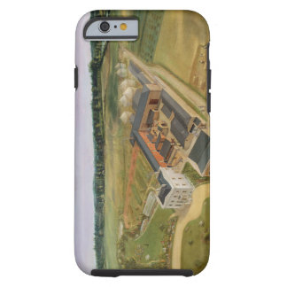 Tiptree Hall and Farm, Essex, c.1850-60 (oil on ca Tough iPhone 6 Case