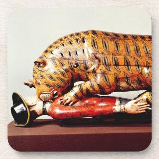 Tipu's Tiger, c.1790 (wood) Beverage Coaster