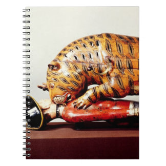 Tipu's Tiger, c.1790 (wood) Spiral Notebooks
