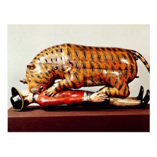 Tipu's Tiger, c.1790 (wood) Postcard