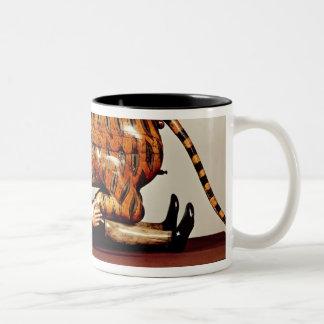 Tipu's Tiger, c.1790 (wood) Two-Tone Coffee Mug