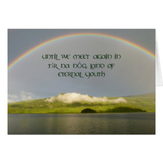Irish Sympathy Cards Zazzle