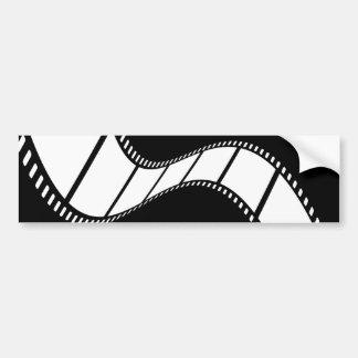 Tira de la película pegatina de parachoque