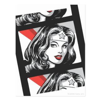 Tira de la película de la Mujer Maravilla Tarjetas Postales