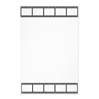 tira de la película inmóvil papelería de diseño