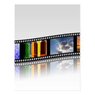 Tira de la película tarjetas postales