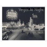 Tira de Las Vegas del vintage Posters