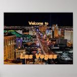 Tira de Las Vegas en la noche Impresiones