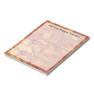 Tira de tocino frita blocs de papel