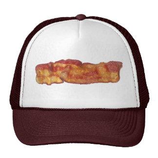 Tira de tocino frita gorras de camionero