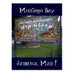 tira Jamaica de la cadera Postal