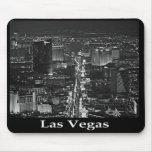 Tira negra y blanca Mousepad de Las Vegas Tapetes De Ratones