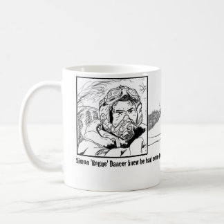 Tira plana taza de café