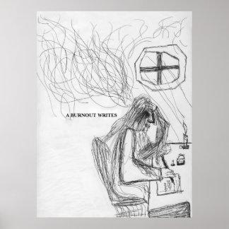 Tirada Swaim - una quemadura escribe Impresiones