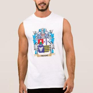 Tirado Coat of Arms - Family Crest Sleeveless Shirts