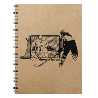 Tirado en el hockey neto (femenino) libreta