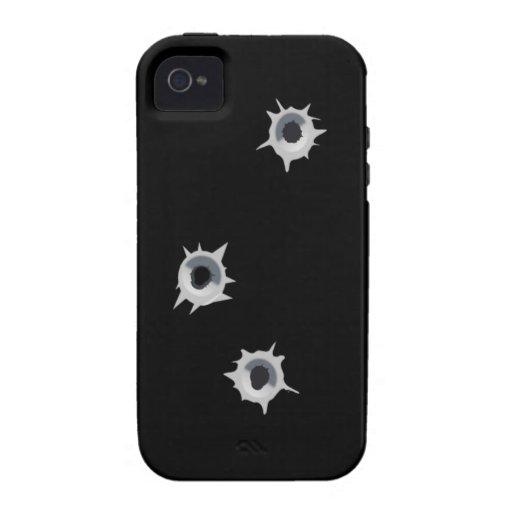 Tirado encima del teléfono iPhone 4 carcasas