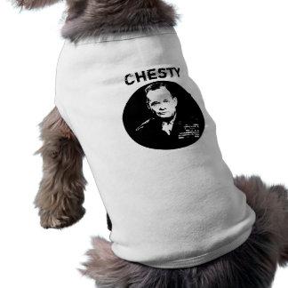 Tirador arrogante -- Blanco y negro Camisetas De Perro
