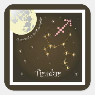 Tiradur 23 November fin 21 december sticker
