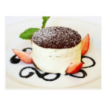 Tiramisu - an Italian, layered dessert Postcard