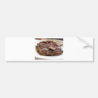 Tiramisu cake bumper sticker