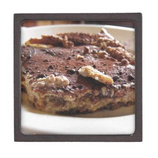 Tiramisu cake gift box