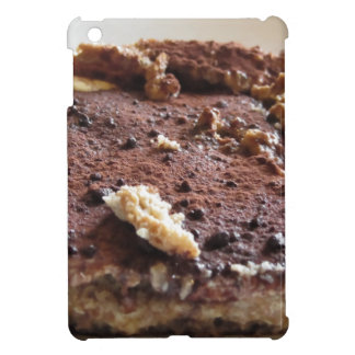 Tiramisu cake . Italian classical dessert Case For The iPad Mini