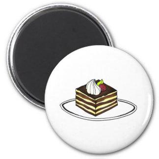 Tiramisu Chocolate Italian Pastry Dessert Magnet