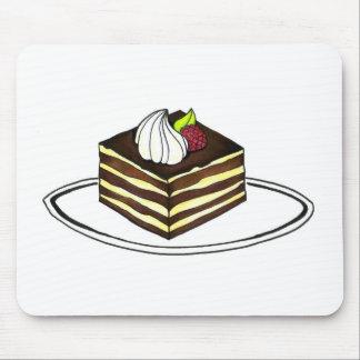 Tiramisu Foodie Italian Dessert Pastry Mousepad