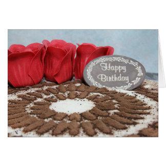 Tiramisu: Happy Birthday Card