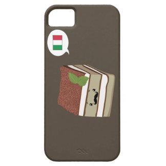 Tiramisu Mustache Phonecase iPhone SE/5/5s Case