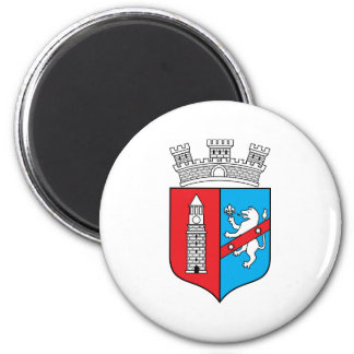 Tirana Coat Of Arms 2 Inch Round Magnet