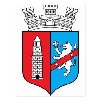 Tirana Coat Of Arms Postcard
