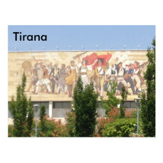 Tirana Postcard