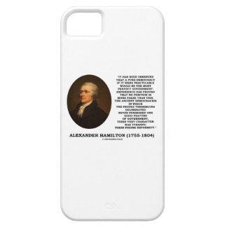 Tiranía de la experiencia de la democracia de iPhone 5 fundas