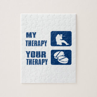 Tirar mi terapia rompecabezas