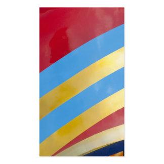Tiras de color tarjetas de visita