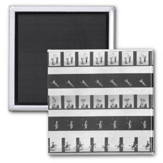 Tiras de la imagen para un praxinoscope imanes para frigoríficos