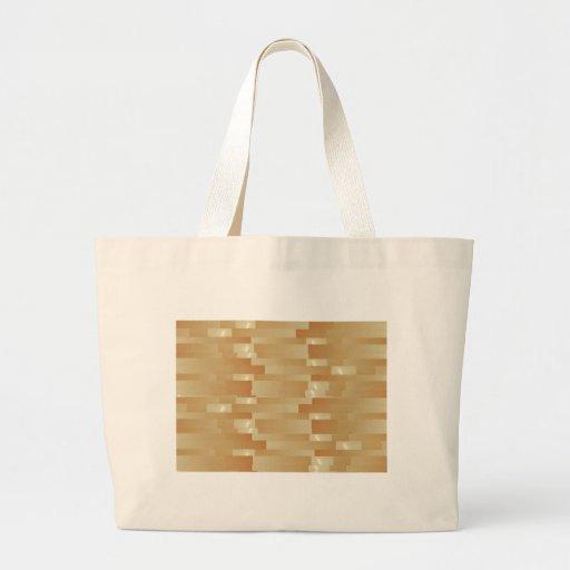 Tiras de oro de seda del satén - sombra Art101 Bolsa