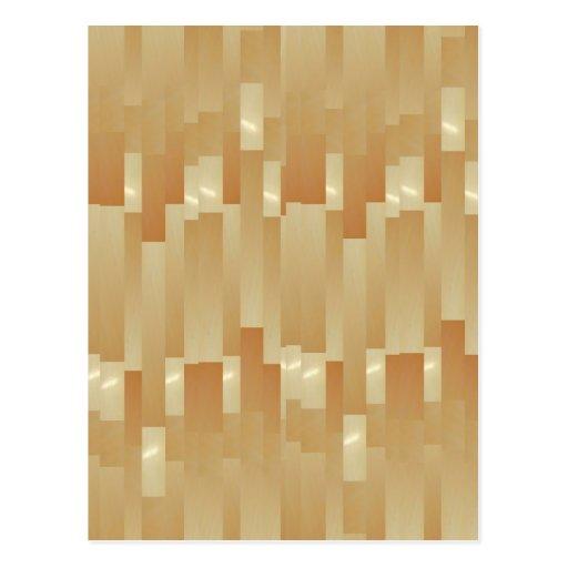 Tiras de oro de seda del satén - sombra Art101 Tarjeta Postal