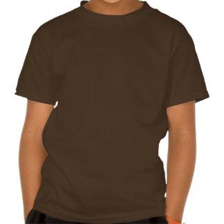 TIRAS DE ORO del triángulo: de arte del VINTAGE Camisetas