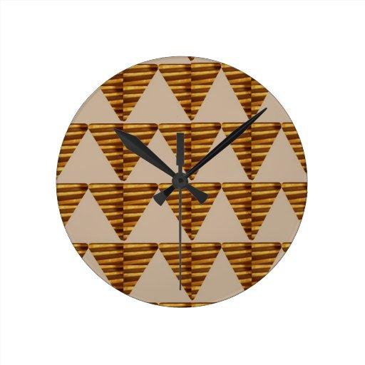 TIRAS DE ORO del triángulo: de arte del VINTAGE Relojes