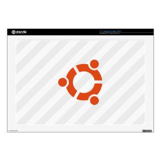 Tiras de Ubuntu Linux Calcomanías Para Portátiles