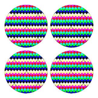 Tiras del arco iris paquete grande de tapa botones